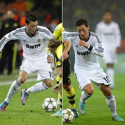 Foto: Özil pasa de Adidas a Nike en el mismo partido