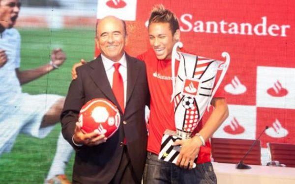 Los ingresos de Neymar en 2012
