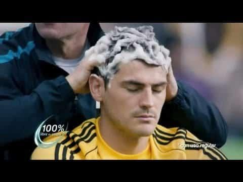 El nuevo video anuncio de Head & Shoulders de Iker Casillas