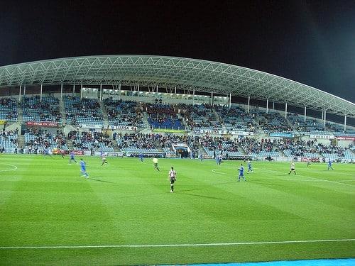Asistencia a los estadios de la LigaBBVA y LigaAdelante en la primera vuelta 2012