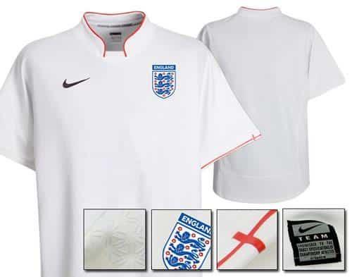 Nueva camiseta Nike de la selección de Inglaterra 2013