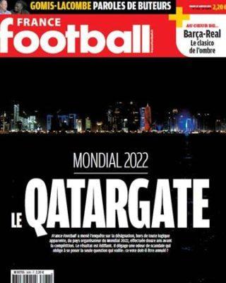 Qatar compró el Mundial de 2022 según 'France Football'