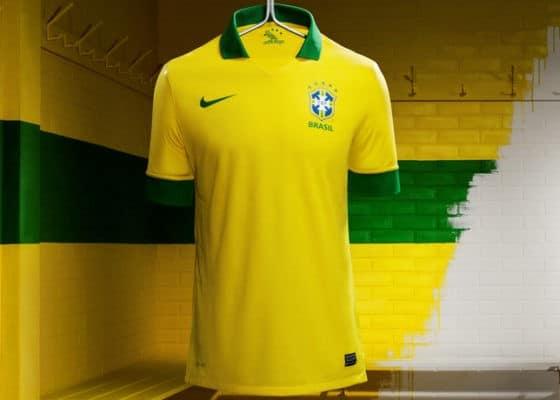 Nueva camiseta Nike de la selección de Brasil 2013