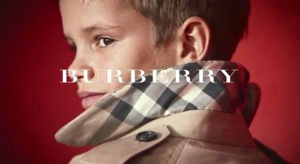 """Beckham ya """"explota"""" comercialmente a su hijo"""