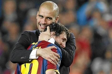 Guardiola tiene presupuesto para fichar a Messi