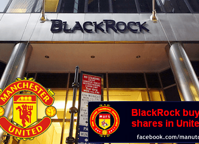 Black Rock compra el 8,21% del Manchester United