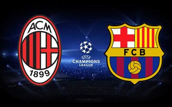 Recaudación y espectadores del AC Milan - FC Barcelona