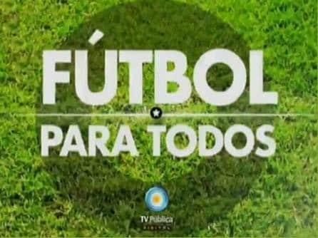 """Cristina Kirchner inaugura el canal gratuíto de televisión """"Fútbol para todos"""""""