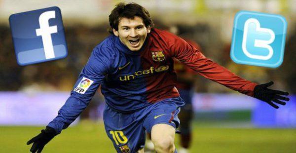 ¿ Tiene Messi un acuerdo de exclusividad con Facebook ?