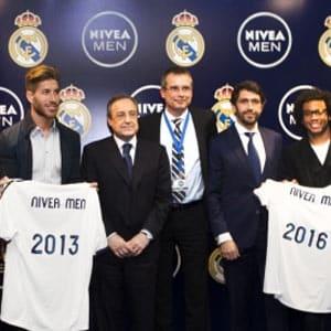 Nivea Men patrocinará al Real Madrid hasta la temporada 2016