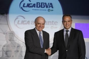 El BBVA seguirá patrocinando a la Liga española