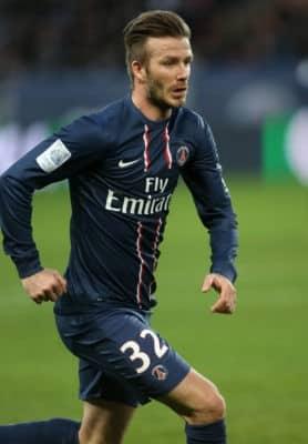 Infografía: David Beckham en números