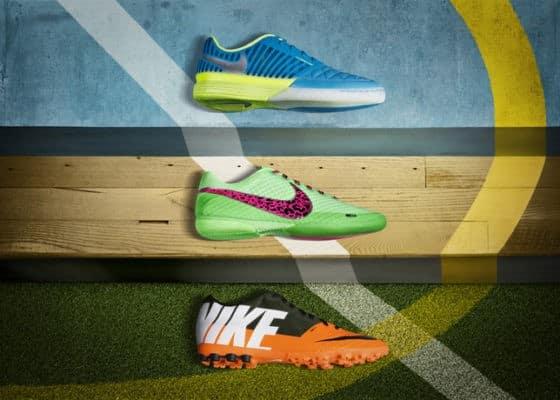 FC247: nueva línea de botas Nike para el fútbol