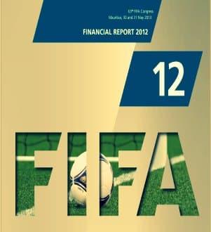 La FIFA gana 89 millones $ en 2012