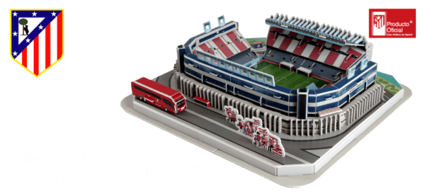 Tu estadio de fútbol en miniatura