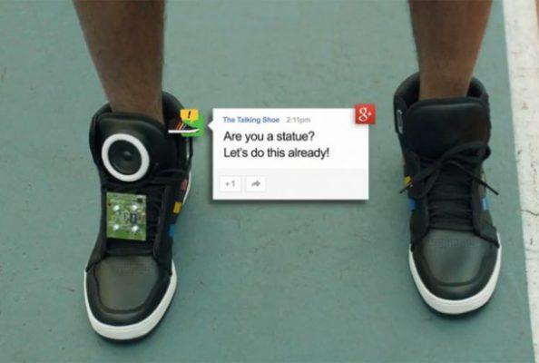 Video: Nike y Google lanzan la zapatilla que habla