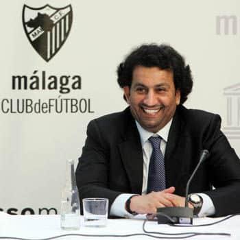 El jeque encuentra un patrocinador para el Málaga CF