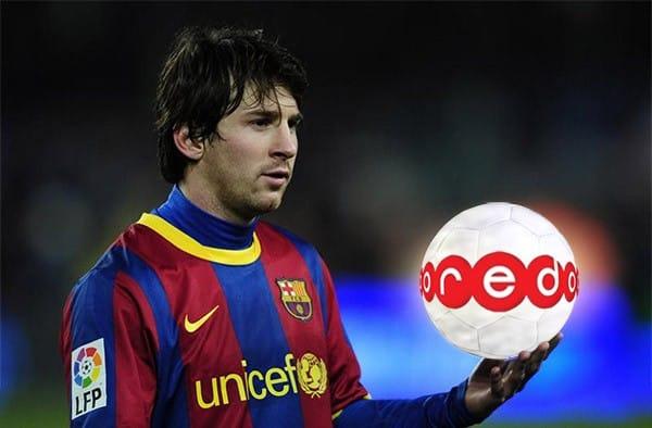 Las empresas se rifan a Messi