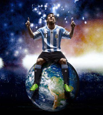 Messi genera el 40% de los ingresos de la selección argentina