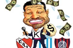 El kirchnerismo se quiere meter en los clubes de fútbol