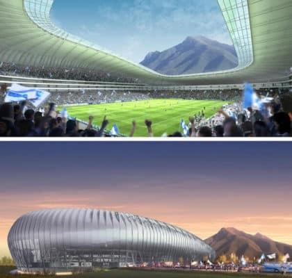 Así será el nuevo campo de fútbol del Monterrey (fotos)