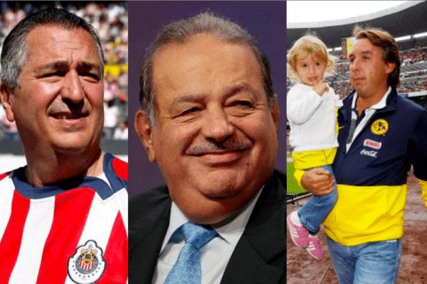 Los propietarios de los equipos de fútbol mexicano 2013
