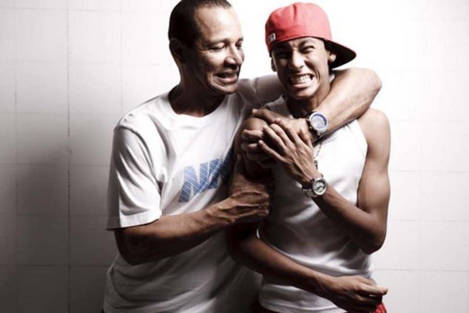 El padre de Neymar es más caro que el jugador.