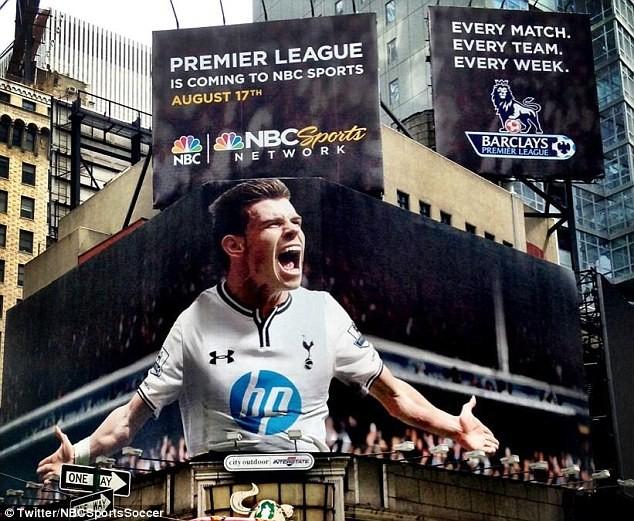 La NBC consigue 'llevarse' a Gareth Bale a Estados Unidos