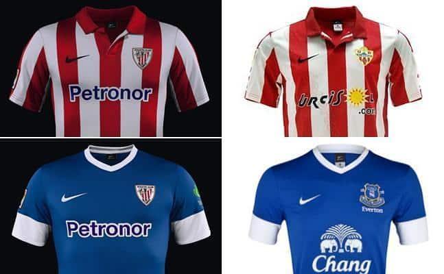 Cuando todas las camisetas de fútbol empiezan a ser iguales
