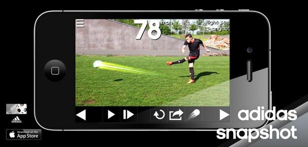 Adidas Snapshot: Una nueva forma de ver el fútbol