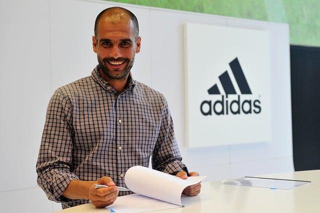 Pep Guardiola, el nuevo golpe de efecto de Adidas