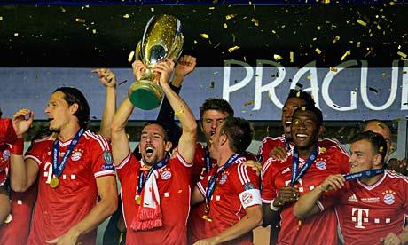 Bayern Munich celebrate w 008