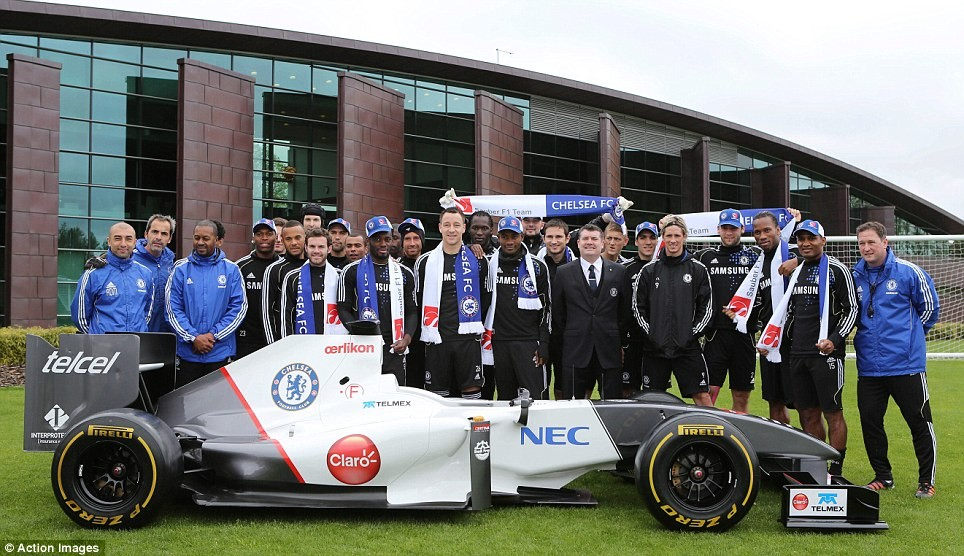 El negocio del Chelsea con la Fórmula- 1