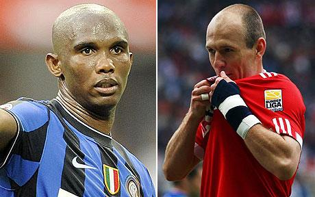 Robben-Eto'o: los mejores fichajes de Bayern e Inter (gracias a RM y FCB)