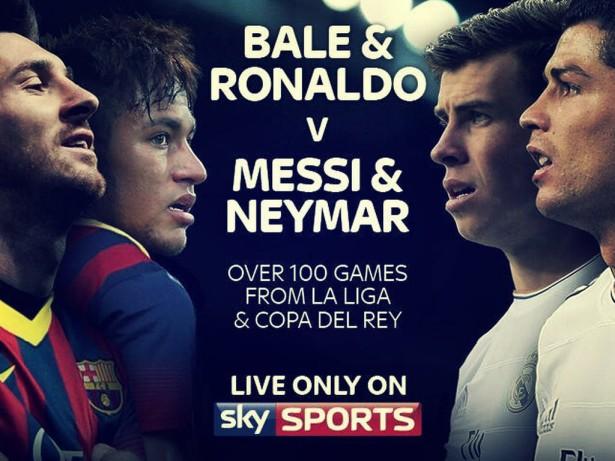 SkySports utiliza la imagen de Bale y destroza a BT