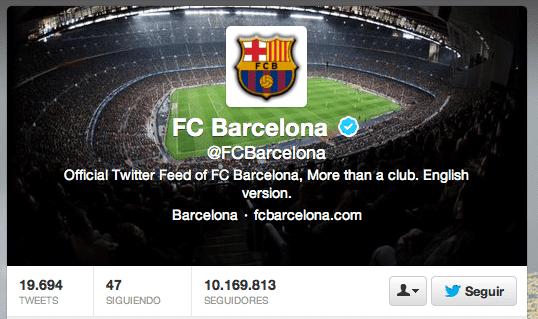 El FC Barcelona tiene un 44% de falsos seguidores en Twitter