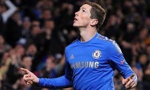 Chelsea's Fernando Torres celebrates