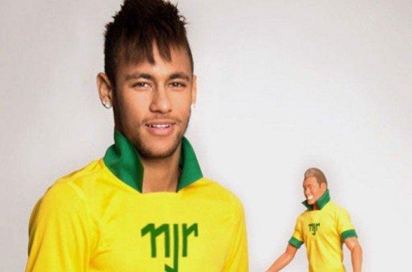 Neymar lanza su propia 'figura' de acción