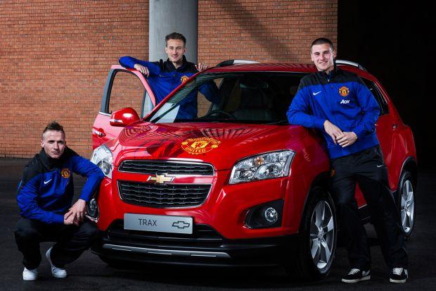 Chevrolet subasta el Trax Manchester United