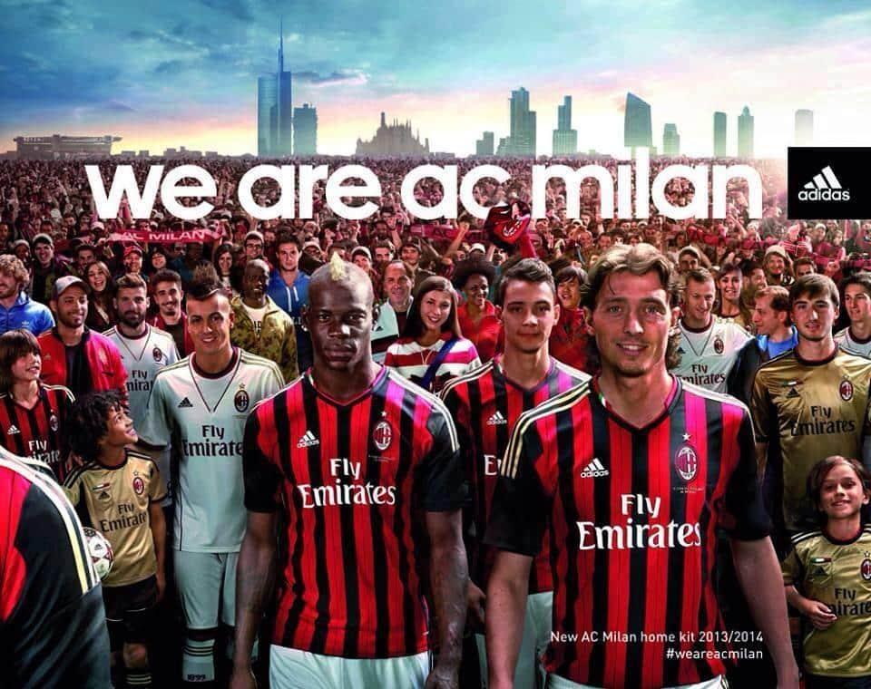 Adidas convierte al Milan en el equipo de Italia que más ingresa por patrocinio de camisetas