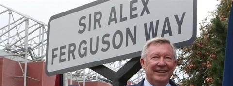 El homenaje de Manchester a su ídolo: la calle 'Sir Alex Ferguson'