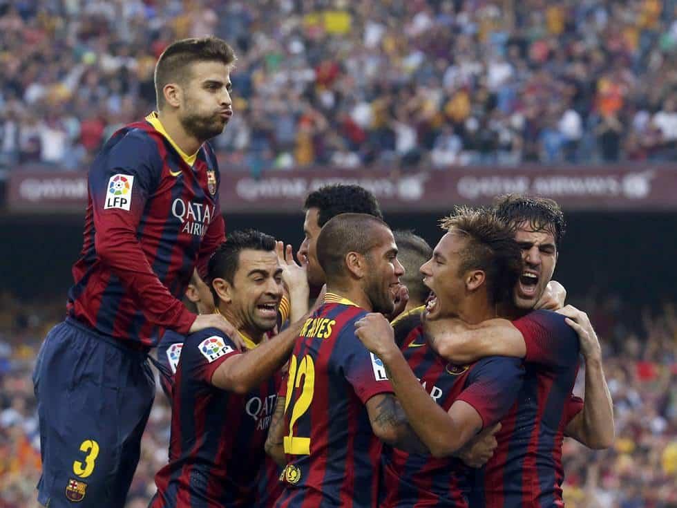 El Barcelona golea al Real Madrid en las redes sociales