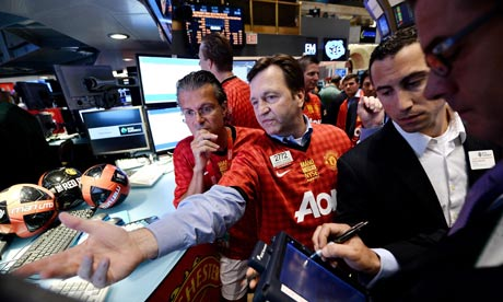 Manchester United at the NYSE