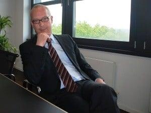 Thomas Tress, del Borussia Dortmund: premio al director financiero del año