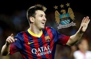 Nike quiere fichar a Messi... a través del Manchester City