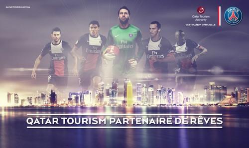 Qatar y  PSG firman el mayor acuerdo de patrocinio de la historia