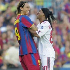 Coste por gol y asistencia de Kaká, CR7, Ibra y Ronaldinho