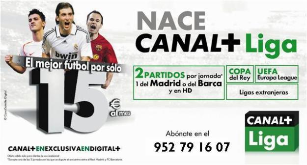 El fútbol de pago se hunde en España