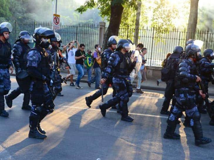 Brasil se blinda con 10.000 agentes para @elMundial