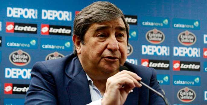 El Deportivo se queda sin la ayuda por descenso a Segunda División
